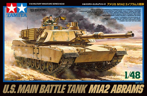U.S. MAIN BATTLE TANK M1A2 ABRAMS 1/48 32592