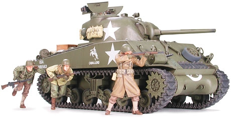 WWII US SHERMAN M4A3 75MM LATE 1/35 35250