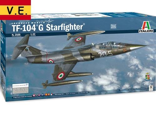 TF-104G STARFIGHTER 1/32 2509 ITALERI CALCAS ESPAÑ