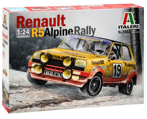 RENAULT R5 ALPINE RALLY 1/24 3652