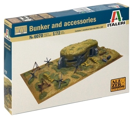 BUNKER Y ACCESORIOS 1/72 6070