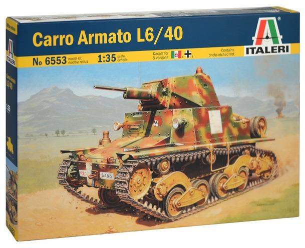 CARRO ARMATO L6/40 1/35 6553