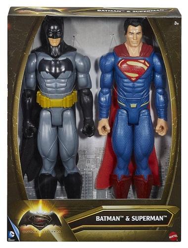 BATMAN VS SUPERMAN VERSION DOS FIGURAS