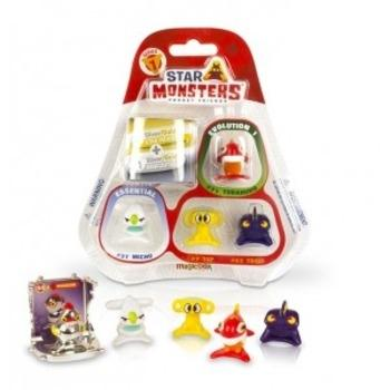 BLISTER STAR MONSTER 5 MUÑECOS + CAPSULA