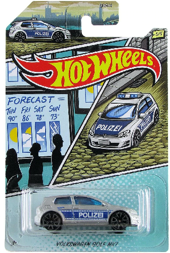 VOLKSWAGEN GOLD MK7 HOT WHEELS